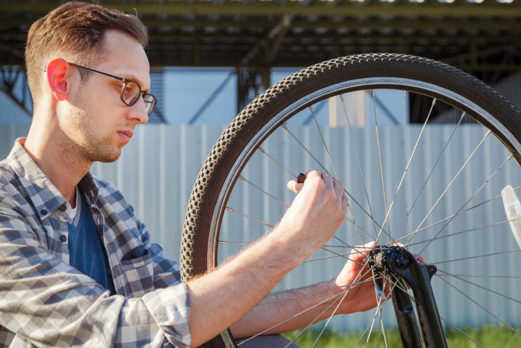 L'installation d'un ordinateur de vélo